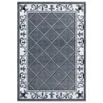 Bristol Altamont Grey 5 ft. 3 in. x 7 ft. 6 in. Area Rug