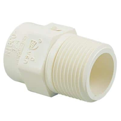 1/2 in. CPVC CTS Slip x MPT Adapter Fitting