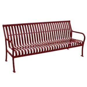 6 ft. Red Premier Bench