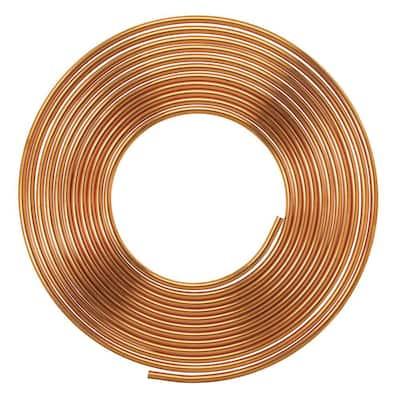 1/2 in. I.D. x 20 ft. Copper Soft Type L Coil (5/8 in. O.D.)