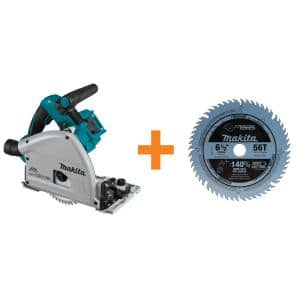 18-Volt X2 LXT (36-Volt) Brushless 6-1/2 in. Plunge Circular Saw with Bonus 6-1/2 in. 56T Carbide-Tipped Saw Blade