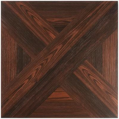 Balsa Decor Mocha 24 in. x 24 in. Matte Porcelain Floor and Wall Tile (11.62 sq. ft./Case)