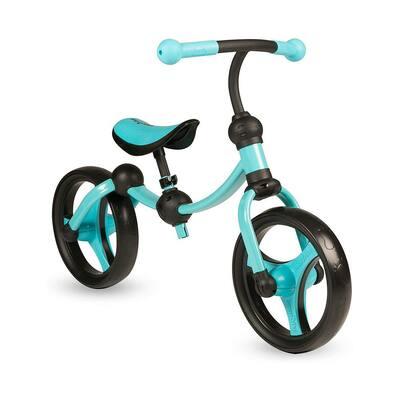 Blue Lightweight Adjustable Kids Running Bike 2-In-1 Balance Bike