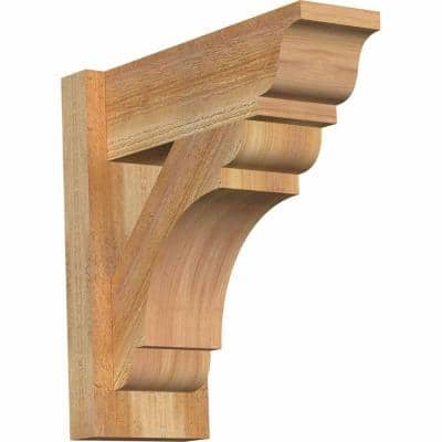 6 in. x 16 in. x 16 in. Western Red Cedar Olympic Traditional Rough Sawn Outlooker