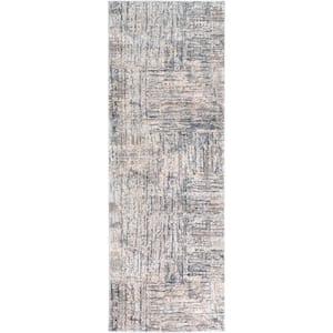 Cheshire Gray 3 ft. x 7 ft. Indoor Area Rug