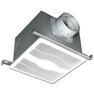 ENERGY STAR® Certified Quiet 280 CFM Ceiling Bathroom Exhaust Fan