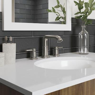 Numista 8 in. Widespread 2-Handle Bathroom Faucet in Vibrant Brushed Nickel