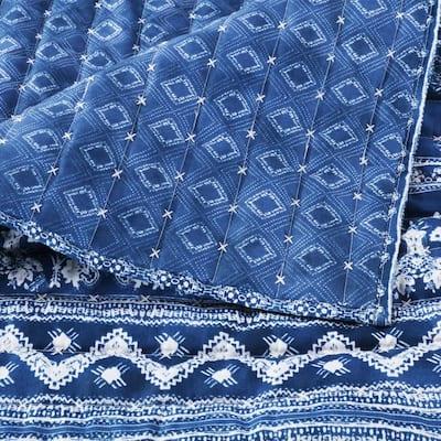 Embry Indigo Quilt Set, 2-Piece Twin