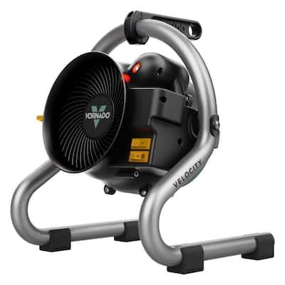 Velocity 1500-Watt HD Heater Fan 5118 BTU Forced Air Electric Portable Heater Furnace Advanced Safety Head Tilt