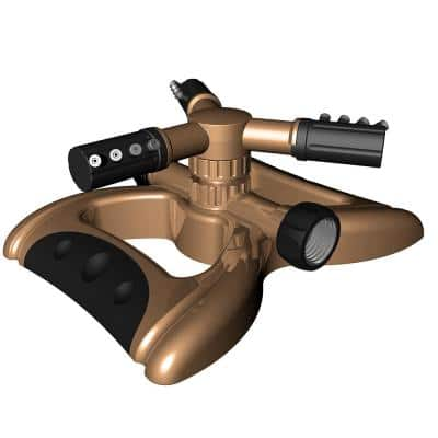 Gentle Drops Metal 3-Arm Sprinkler