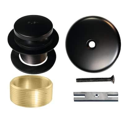 Universal Tip-Toe Tub Drain Trim Kit, Oil Rubbed Bronze