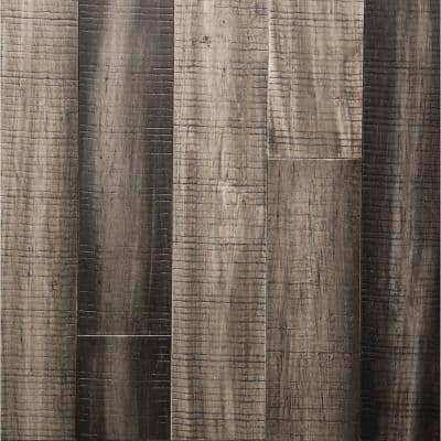 Dovetail Gray .33 in. T x 5.12 in. W x 36.22 in. Length Engineered Rigid Core Bamboo Flooring (10.3 sq. ft. / case)