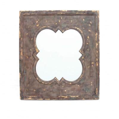 Mariana Indoor Cosmetic With Quadrate Frame Wall Decor