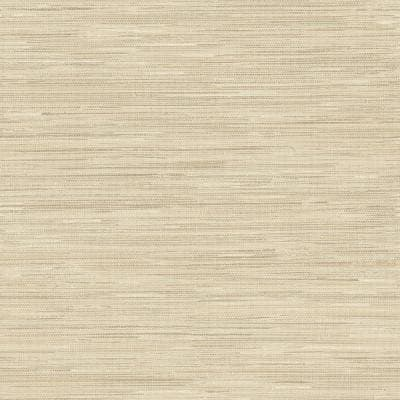 Avery Weave Cream Peel and Stick Wallpaper