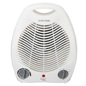 1,500-Watt Electric Portable Fan Heater with Adjustable Thermostat