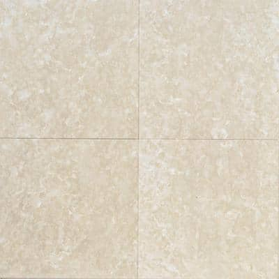 Natural Stone Collection Botticino Fiorito 12 in. x 12 in. Marble Floor and Wall Tile (10 sq. ft. / case)