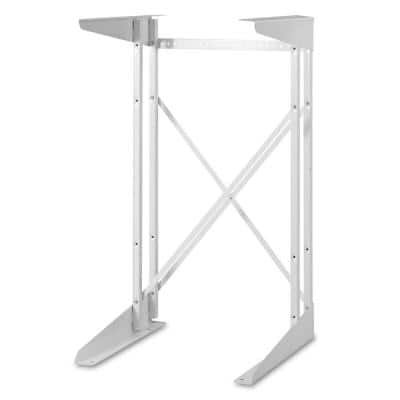 Compact White Dryer Stand