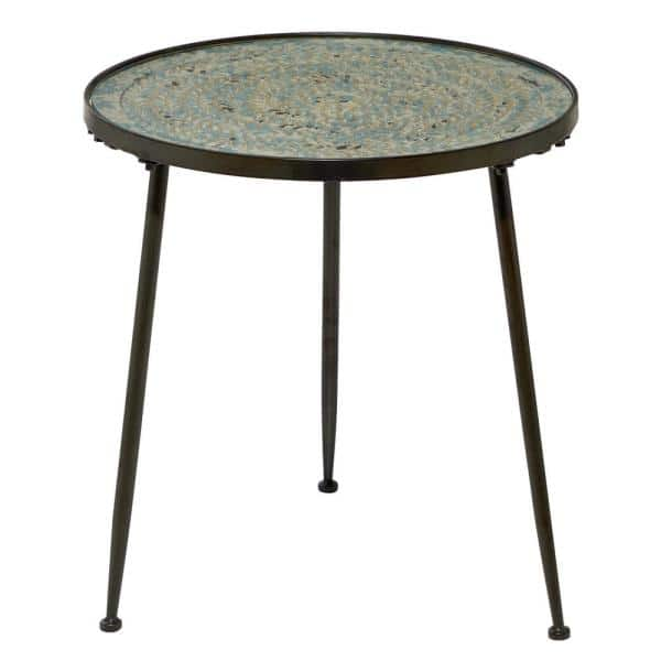 Small Round End Side Table, Small Round End Table