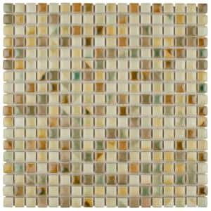 Rustica Mini Springfield 12 in. x 12 in. x 8 mm Porcelain Mosaic Tile