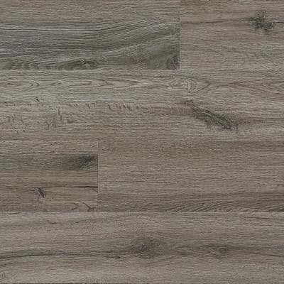 Hydralock Filtered Gray 6 in. W x 48 in. L Floating Vinyl Plank (23.6 sq. ft.)