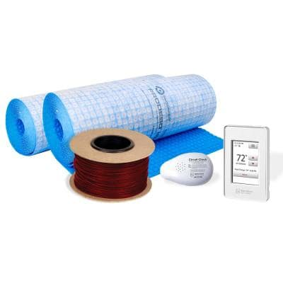 TempZone Cable and Membrane 675 ft. 240-Volt Radiant Floor Heating Kit (Covers 210.9 sq. ft.)