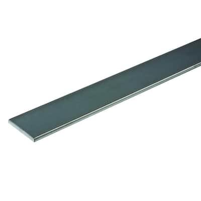 3 in. x 36 in. Plain Steel Flat Bar
