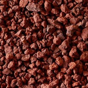 0.5 cu. ft. Bagged Red Lava Rock (64 Bags/32 cu. ft./Pallet)