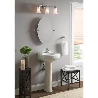 Adler 4 in. Centerset Single-Handle Bathroom Faucet in Chrome (2-Pack)