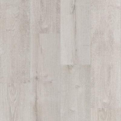 Vinyl Pro With Mute Step White Aspen 7.25 in. W x 48 in. L Waterproof Luxury Vinyl Plank Flooring (24.03 sq. ft)