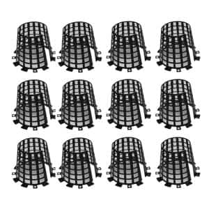 Black Tree Trunk Guard Protector for Garden Protection (12-Pack)