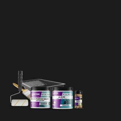 1 pt. Licorice Multi-Surface All-In-One Countertop Makeover Refinishing Kit