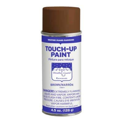 4.5 oz Brown Touch-Up Paint for Gutters