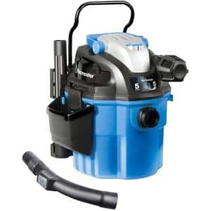 5-gal. Wall Mount / Portable Wet/Dry Vac with 2-Stage Motor