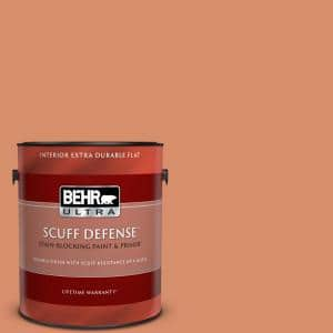 Behr Ultra 1 Gal Mq4 38 Balcony Sunset Extra Durable Flat Interior Paint Primer 172301 The Home Depot