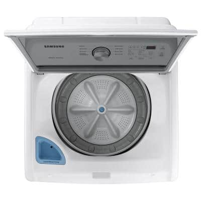 27 in. 4.5 cu. ft. Capacity White Top Load Washing Machine with Vibration Reduction Technology+