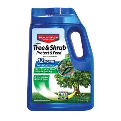 10 lbs. Tree and Shrub Protect and Feed Granules
