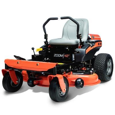 Zoom 42 in. 19 HP Kohler V Twin Gas Hydrostatic Zero-Turn Riding Mower