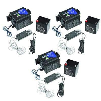 Trailer Hitch System w/ Test Meter, Battery, Switch and Charger (3-Pack)