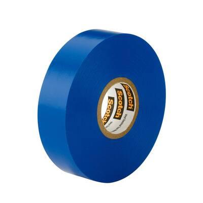 Scotch 3/4 in. x 66 ft. x 0.007 in. #35 Electrical Tape, Blue