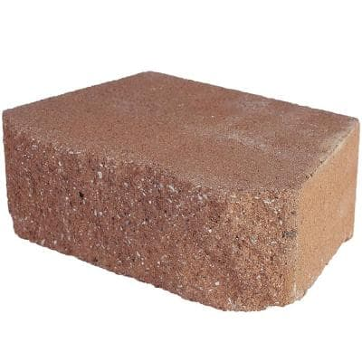 4 in. x 11.75 in. x 6.75 in. San Diego Terra Cotta Concrete Retaining Wall Block (144-Pieces/46.6 Sq. Ft./Pallet)