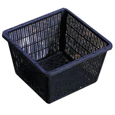 10 in. x 10 in. Plastic Water Garden Basket