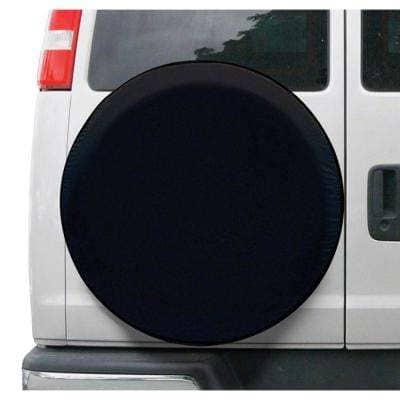 Over Drive Universal Fit Spare Tire RV Cover, Wheels 26 in. - 28 in. Diameter, Black