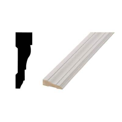 WM 366 - 11/16 in. x 2-1/4 in. x 84 in. Primed Finger-Jointed Pine Casing Set
