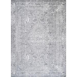Couristan Brocatelle Velveteen Silver 5 Ft X 8 Ft Area Rug 26138256053076t The Home Depot