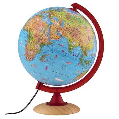 Circus Explorer 10 in. Illuminated Desktop Globe for Kids