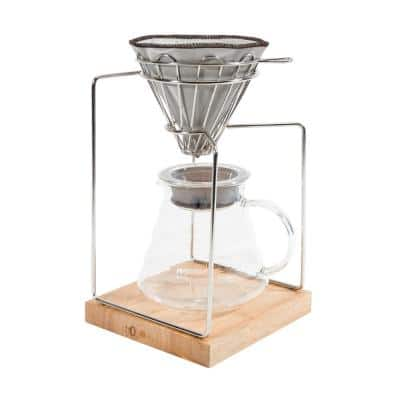 20oz. Stainless Steel Pour Over Dripper Coffee Maker