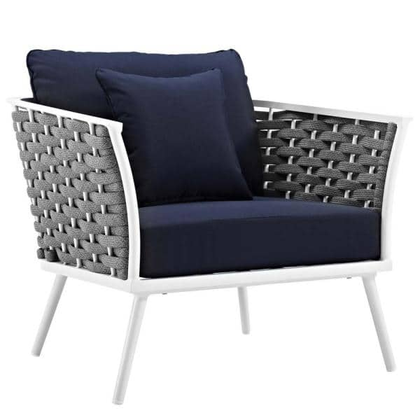 Modway Stance White Aluminum Outdoor, Modway Outdoor Furniture