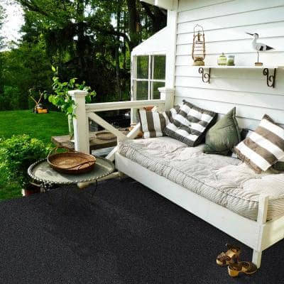 Dayside - Color Ebony Texture 6 ft. x Your Choice Length Carpet