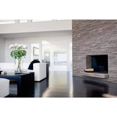Terrado Veneto Ash Stacked Stone Corner (4 sq. ft. / case)