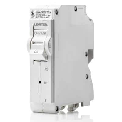 Branch Circuit Breaker, AFCI 1-Pole 20 Amp, 120-Volt, Thermal Magnetic